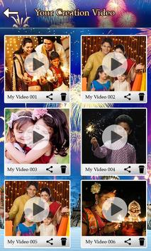 Diwali Video Maker with Music screenshot 4