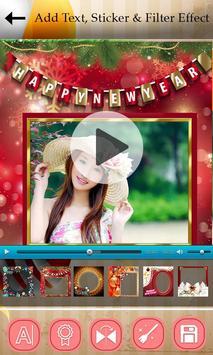 Happy New Photo Video Maker 2017 apk screenshot