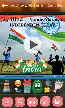Independence Day Video Maker screenshot 3