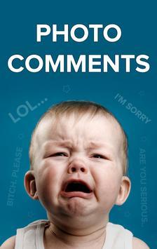 Photo Comments - Tamil, English, Malayalam, Hindi poster