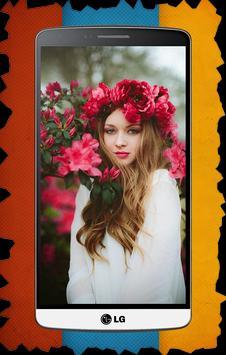 Flower Corona Photo Editor apk screenshot
