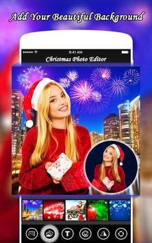 Christmas Photo Editor | Merry Christmas poster