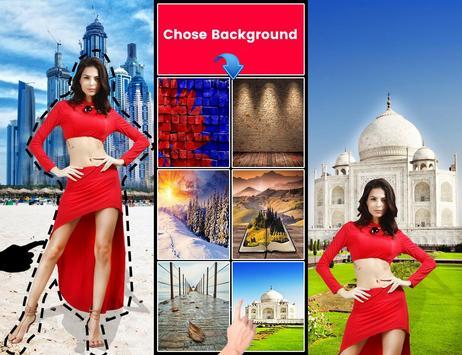 Auto photo cut paste | background eraser poster