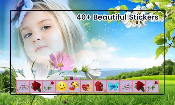 Nature photo frame photo editor | photo mixer apk screenshot