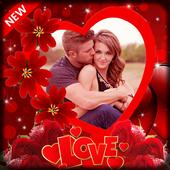 Romantic photo frame photo editor | photo mixer icon