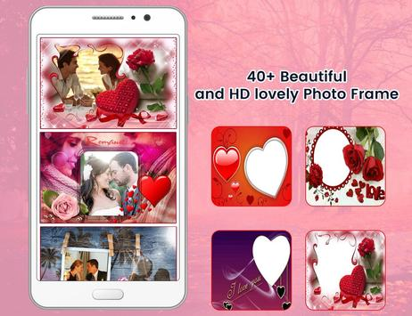 Romantic photo frame photo editor | photo mixer screenshot 1