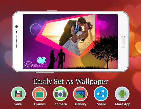 Romantic photo frame photo editor | photo mixer screenshot 2