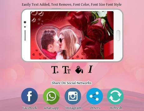 Romantic photo frame photo editor | photo mixer screenshot 3
