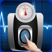 Weight Machine Scanner   prank app icon