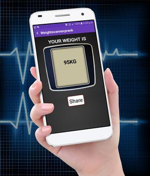 Weight Machine Scanner   prank app apk screenshot