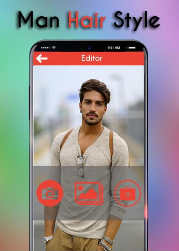 Man Hairstyle Photo Frame For Android Apk Download