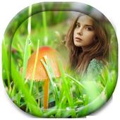 Green Grass Photo Frame icon