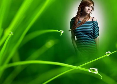 Green Grass Photo Frame screenshot 2