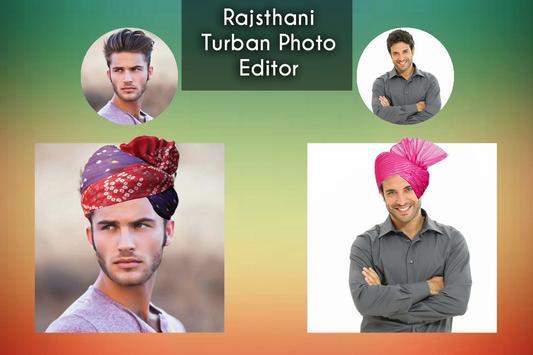 Rajasthani Turban Photo Editor poster