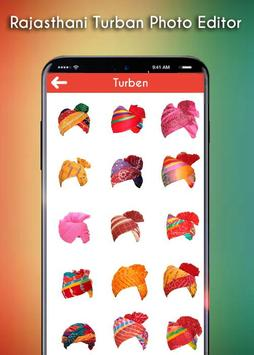 Rajasthani Turban Photo Editor apk screenshot