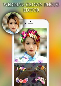Wedding Crown Photo Editor apk screenshot
