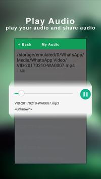 mp4 to mp3 apk screenshot