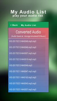 Mp4 To Mp3 Converter screenshot 3