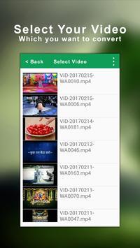 Video To Music Converter screenshot 1