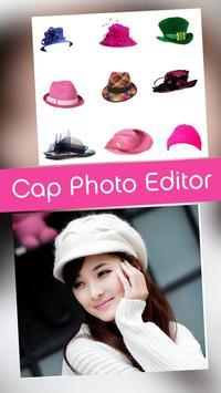 Cap Photo Editor poster