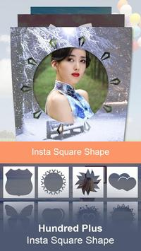 Insta Square Shape poster