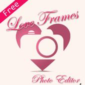 Love Frames Photo Editor icon