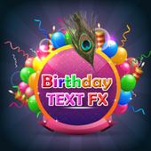 Name on Birthday Card icon