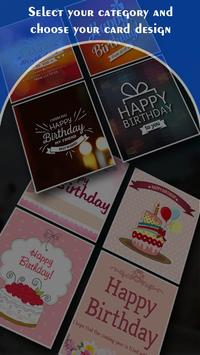 Name on Birthday Card poster