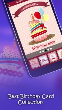 Name on Birthday Card screenshot 1