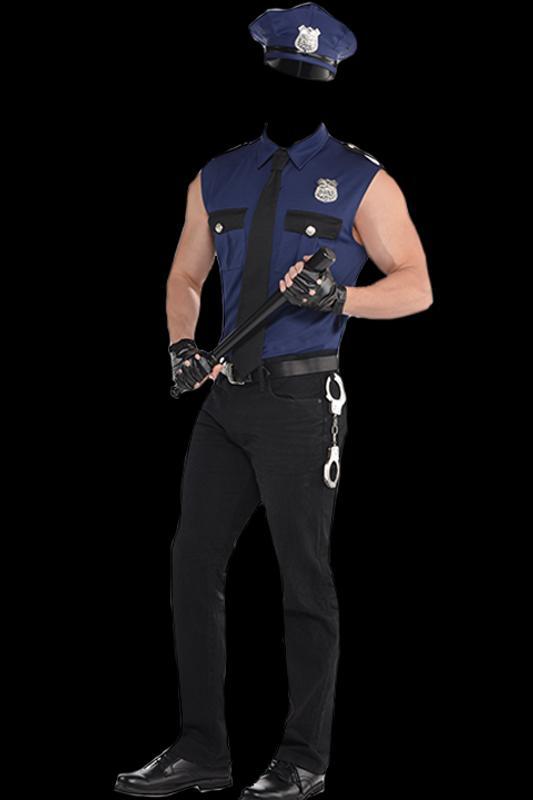 Men Police Suit Frames APK Download - Free Photography APP for ...