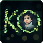 Bokeh Text Photo Frames icon
