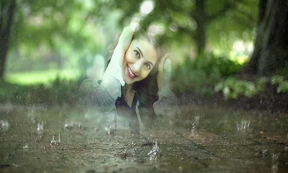Rain Cover Photo Frames poster
