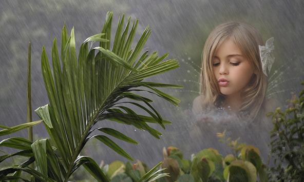 Rain Cover Photo Frames screenshot 1