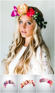 Beautiful Flower Crown Photo Editor screenshot 3