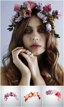 Beautiful Flower Crown Photo Editor screenshot 1