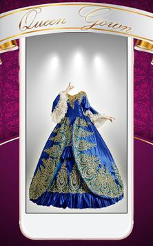 Queen Gown Photo Montage screenshot 1
