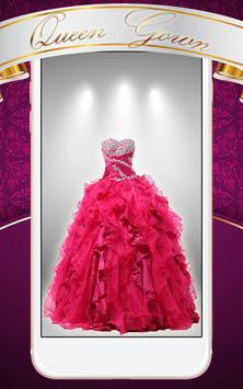 Queen Gown Photo Montage screenshot 2