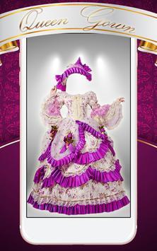 Queen Gown Photo Montage screenshot 3