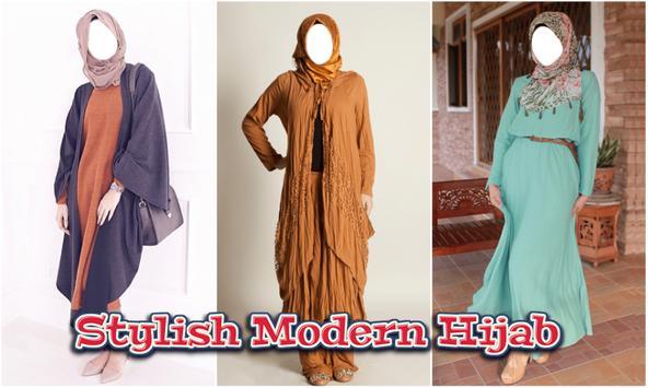 Modern Hijab Look Fashion Photo Editor poster