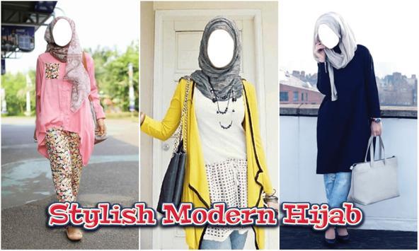 Modern Hijab Look Fashion Photo Editor screenshot 1
