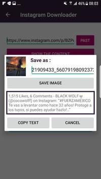 Copas Photo Video for Instagram apk screenshot