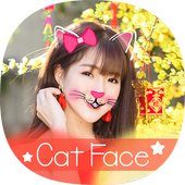 Face Cat Maker: Emoji, Sticker, FaceDance Cat icon