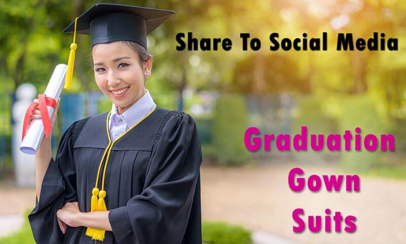 Graduation Gown Suits APK Download - Free Photography APP for ...