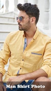 Man Shirt Photo Suit-Effect poster