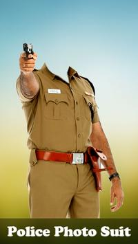 Police Photo Suit-Effect poster
