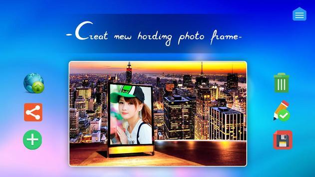 Hording Photo Frame poster