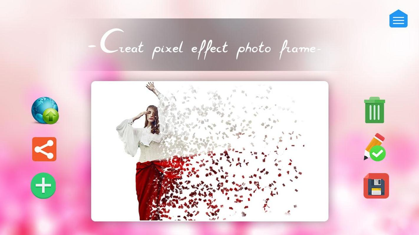 Pixel Effect Photo Frame APK Download - Free Personalization APP for ...