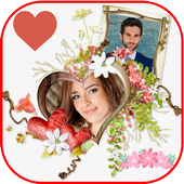 Love Flower Photo Frame new 2018 icon