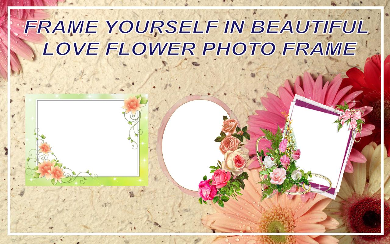 Love Flower Photo Frame New 2018 For Android Apk Download