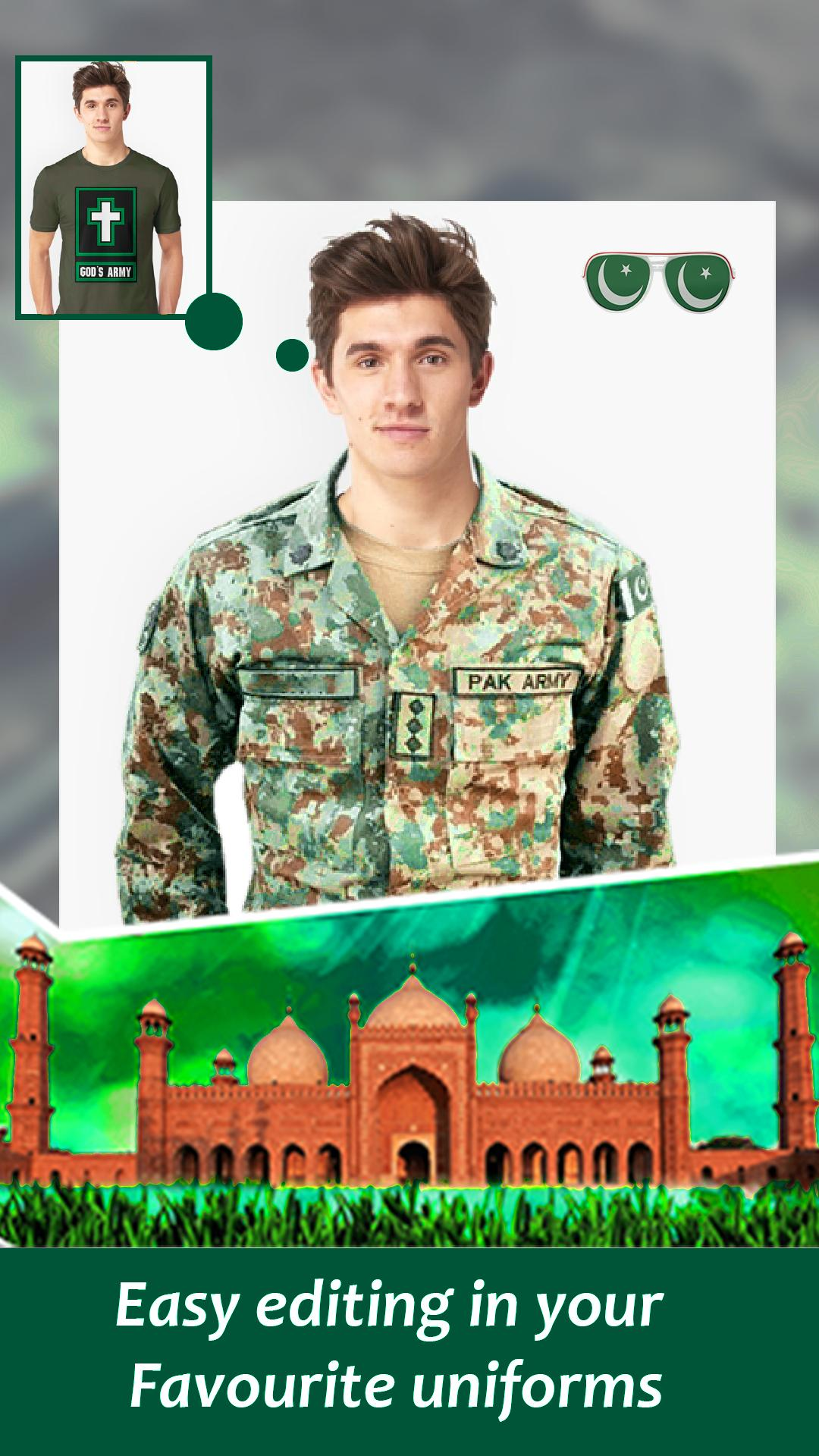 Pak Army Suit Photo Editor 2019 for Android - APK Download